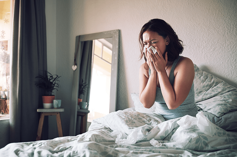alleviate allergies with hvac system maintenance