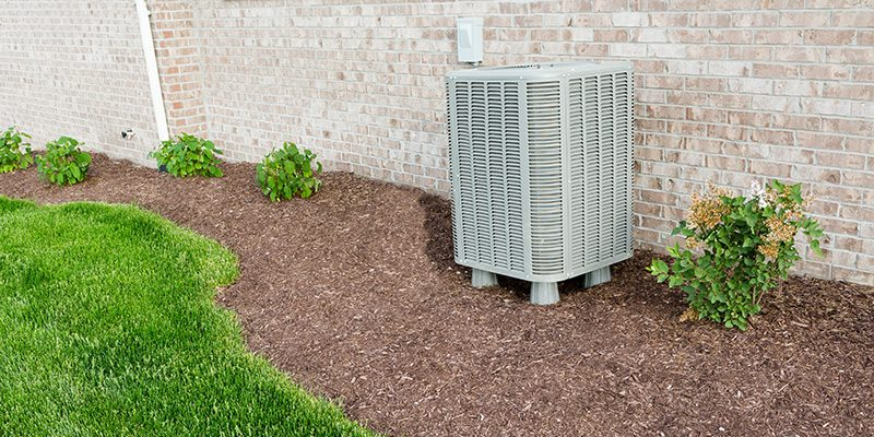AC outside next to a house in Wausau