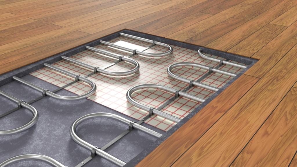 Radiant floor service.
